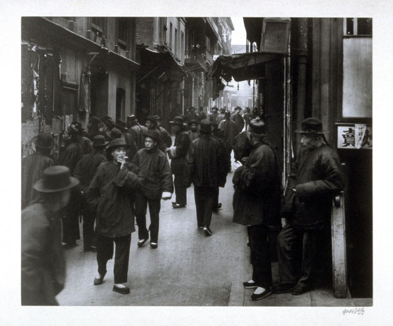 Street of the Gamblers (Ross Alley), from the Chinatown Series