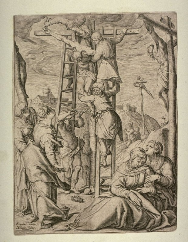 The Descent from the Cross, from The Passion series