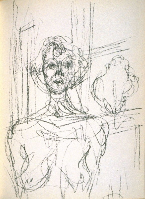 Annette, p. 69, from the book Prints from the Mourlot Press