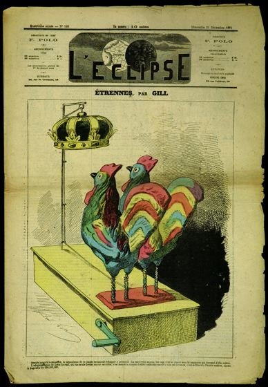 Étrennes (New Year's Gifts), cover of L'Eclipse