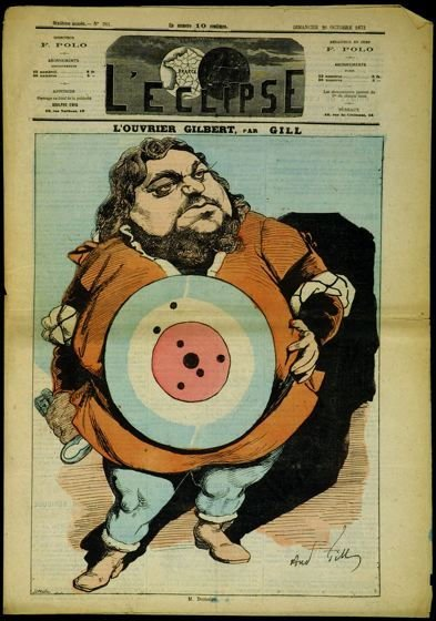 L'Ouvrier Gilbert (The Gilbert Workman), cover of L'Eclipse