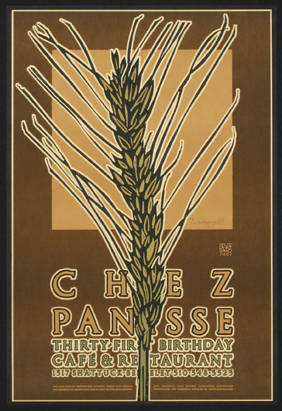 Chez Panisse Café and Restaurant: Thirty-First Birthday