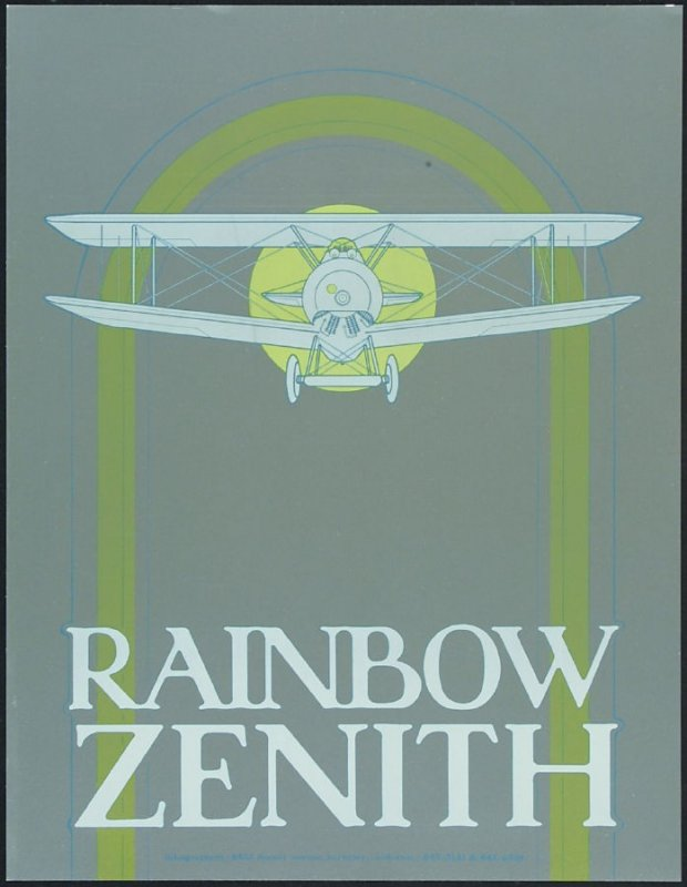 Proof 4 for the poster Rainbow Zenith