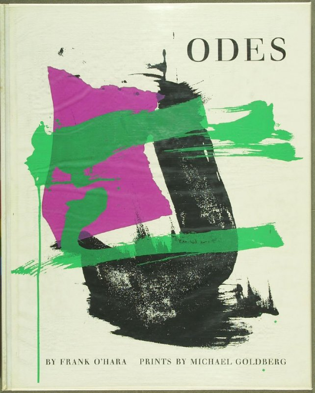 Odes by Frank O'Hara in the Portfolio of 4 Books of Poetry (New York: Tiber Press, 1960)