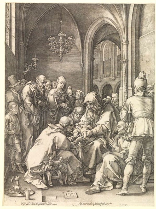 The Circumcision of Christ from The Life of the Virgin