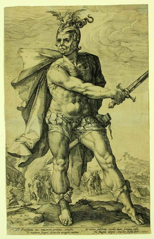 Mucius Scaevola from The Roman Heroes