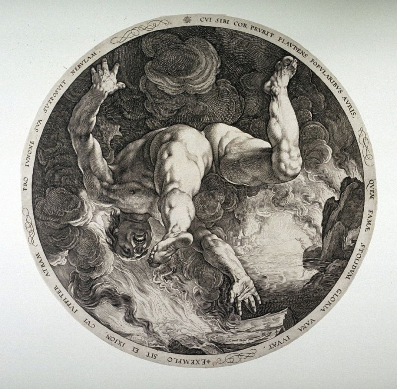 Ixion from The Four Disgracers