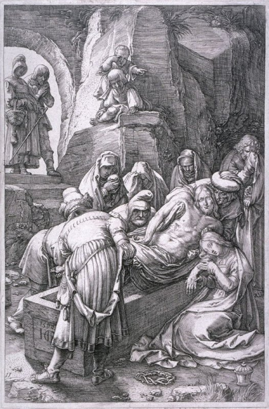The Deposition from The Passion