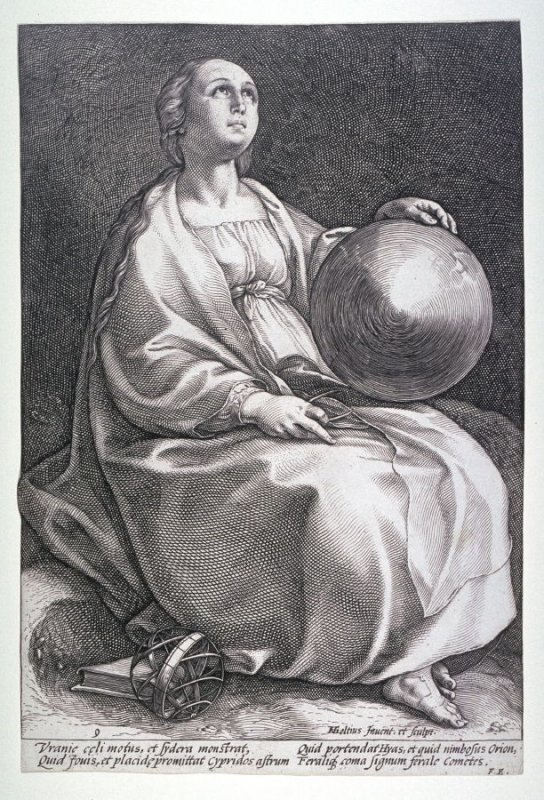 Urania from the Nine Muses