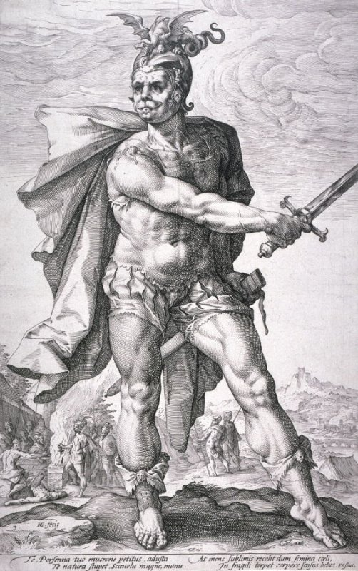 Mucius Scalvola from The Roman Heroes