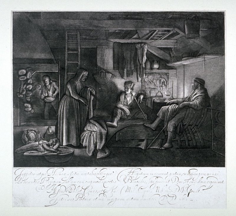 Jupiter and Mercury in the House of Baucis and Philemon