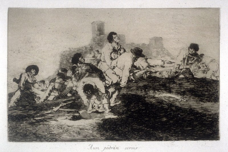 Aun podrán servir (They Can Still Be of Use), pl. 24 from the series Los desastres de la guerra (The Disasters of War)