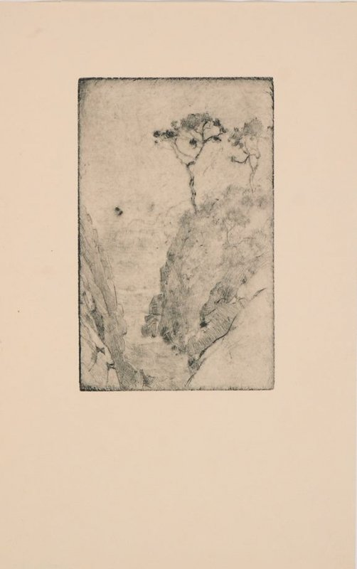 Proof impression for Untitled (Point Lobos)