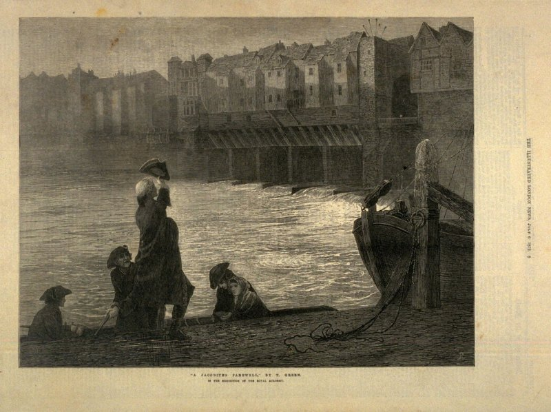 A Jacobite Farewell - p.8 The Illustrated London News (6 July 1872)