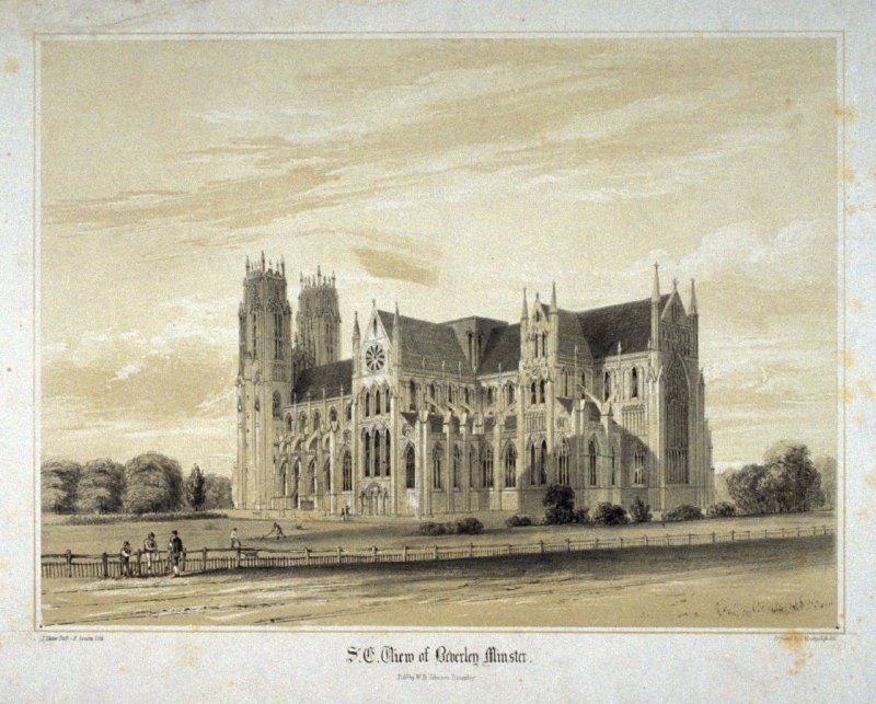 S.E. View of Beverley Minster