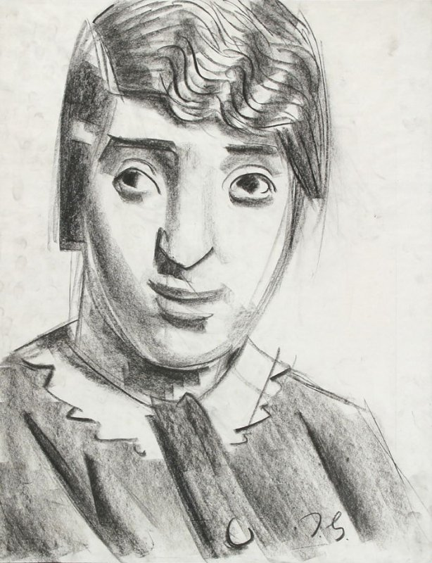 Untitled (Portrait of a Young Woman)