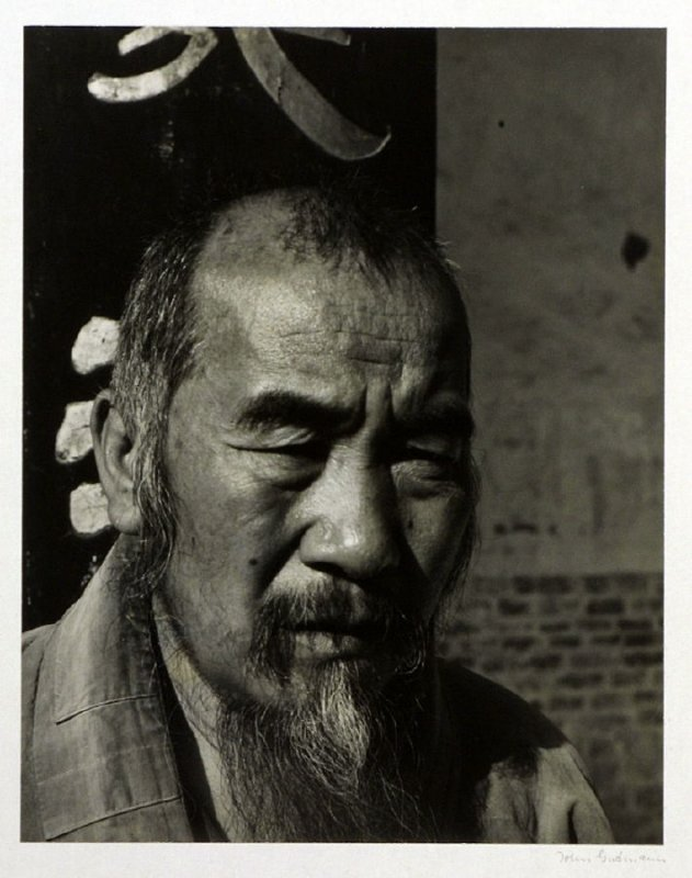 The chief monk of a Buddhist temple in western Yunnan.