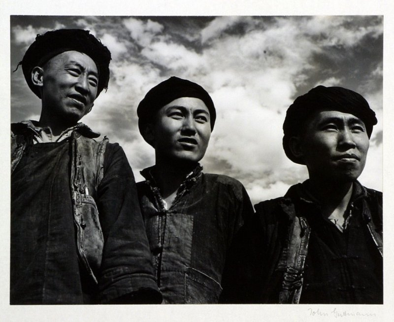 Young tribesmen of southwest China