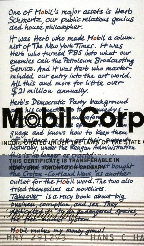 Upstairs at Mobil: Musings of a Shareholder #10