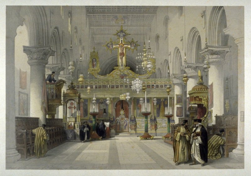 Chapel of Convent of Saint Catharine, Mount Sinai - The Holy Land