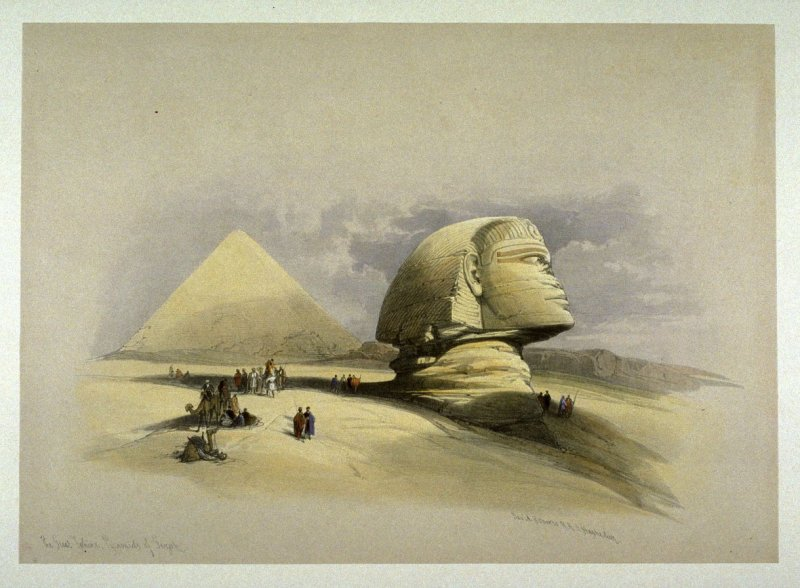 The Great Sphinx, Pyramids of Gezeeh- Egypt
