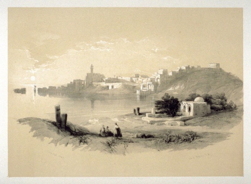 Sidon, from the North - The Holy Land