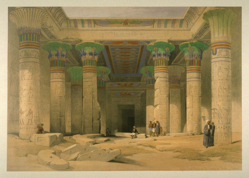 Grand Portico of the temple of Philae - Egypt