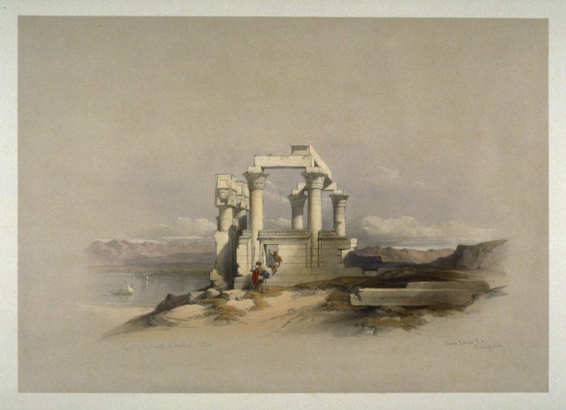 Ruins of the Temple of Kardeseh, Nubia- Egypt