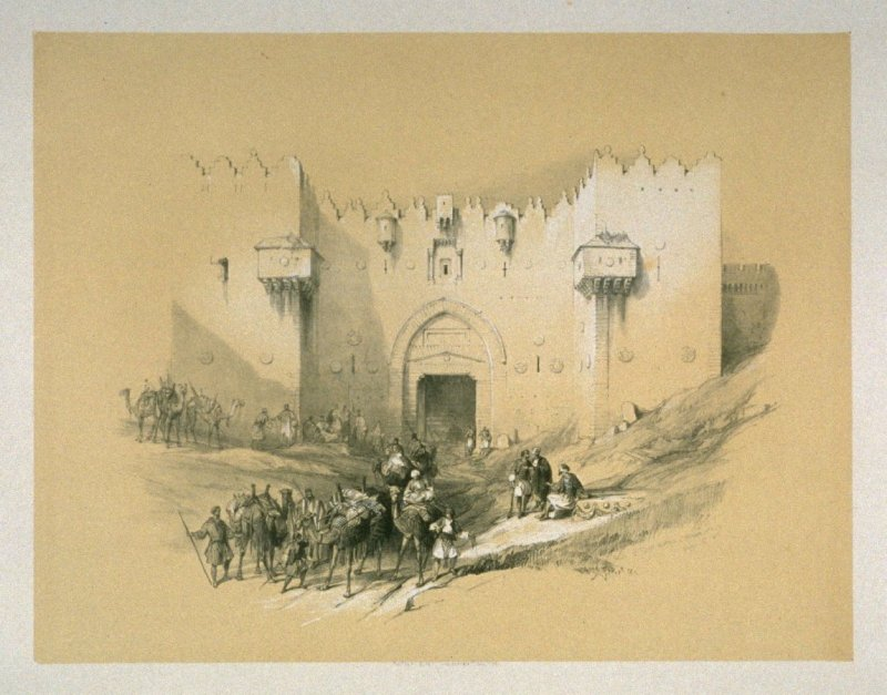 The Damascus Gate - The Holy Land