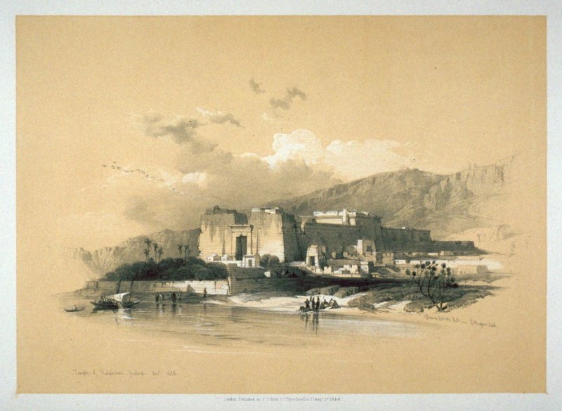 General View of Kalabshee, Formerly Talmis - Egypt