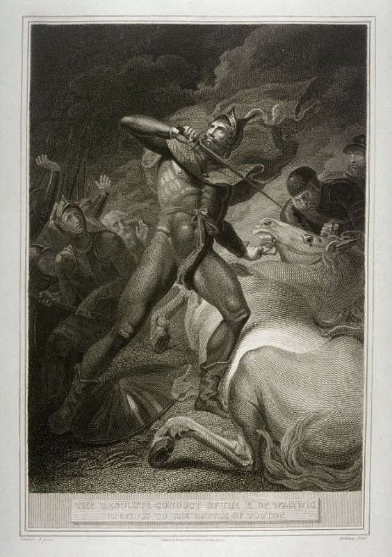 The Resolute Conduct of the E. of Warwic Previous to the Battle of Touton