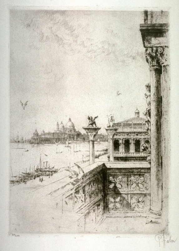 Looking across the Grand Canal, Venice