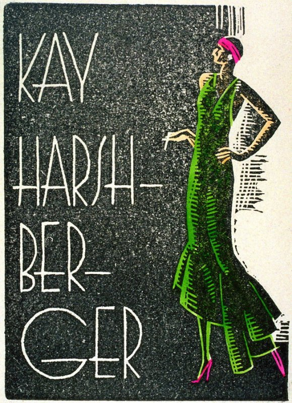 Untitled (Kay in a green dress)