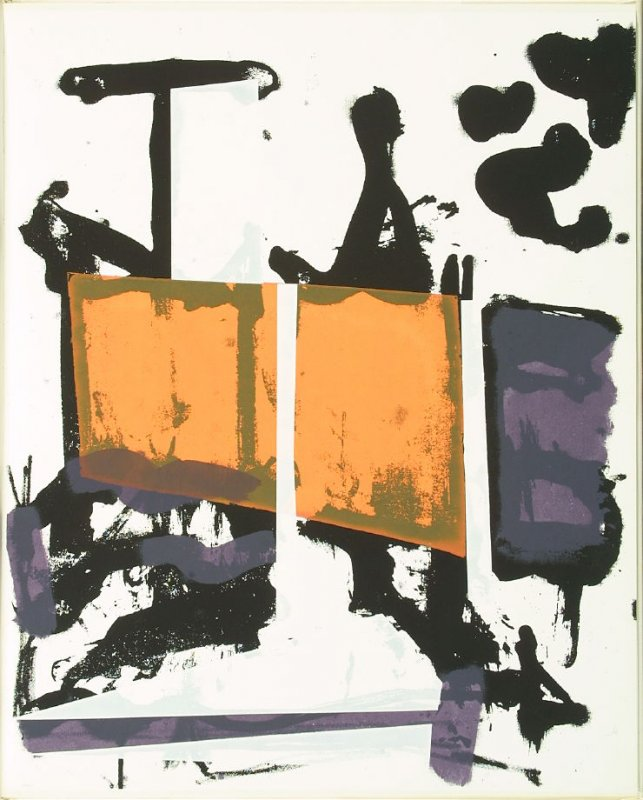 Untitled, in the book Salute by James Schuyler in the Portfolio of 4 Books of Poetry (New York: Tiber Press, 1960)