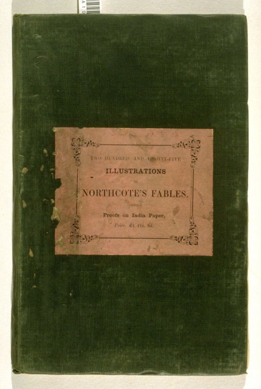 Proof Illustrations to Northcote's Fables… (London: Geo. Lawford, 1828)