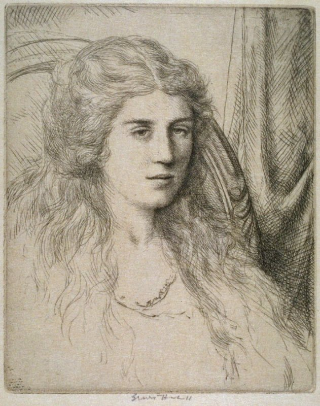 Cameo (portrait of Emma Haskell)
