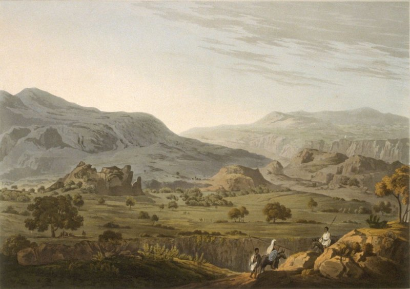 The Pass Of Atbara In Abyssinia
