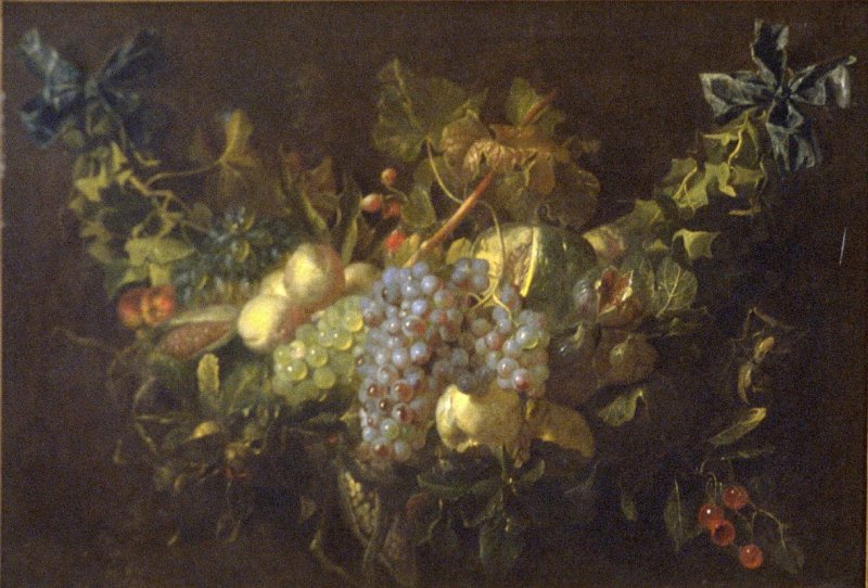 A Swag of Fruit and Flowers