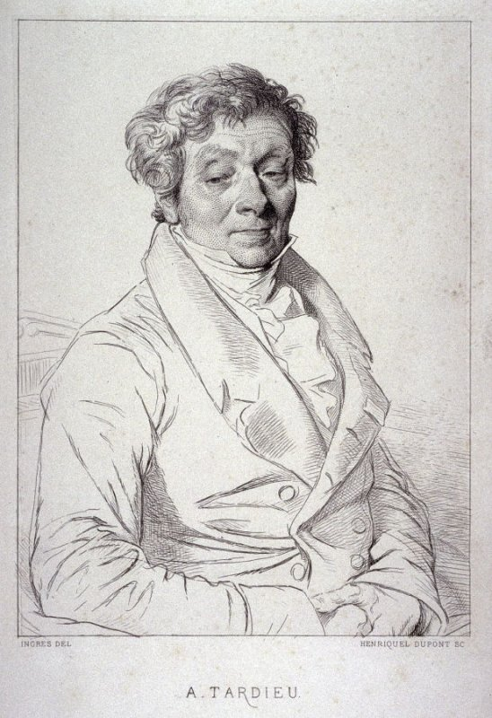Portrait of A. Tardieu