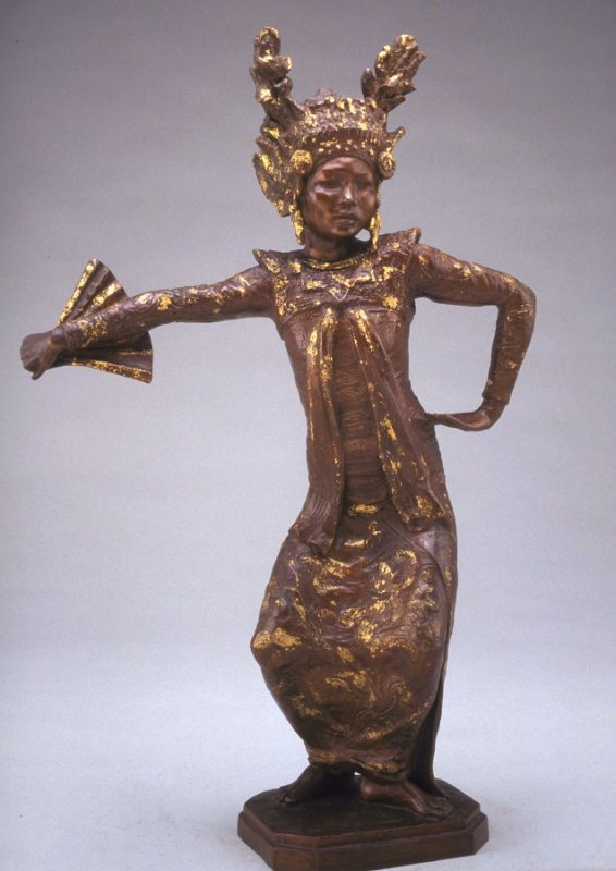 Balinese Fan Dancer