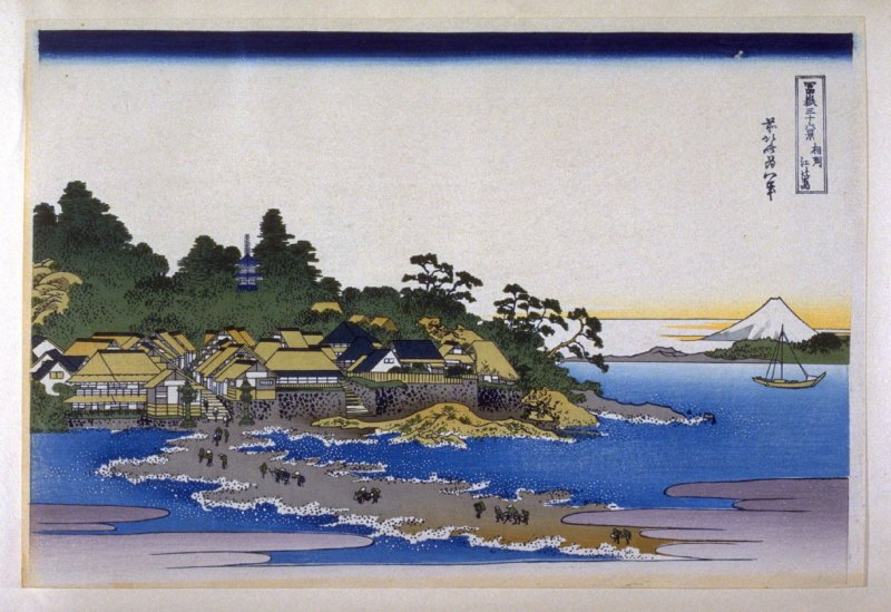 Soshu Enoshima - from 36 Views of Fuji