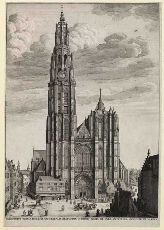 The Cathedral Church of Antwerp