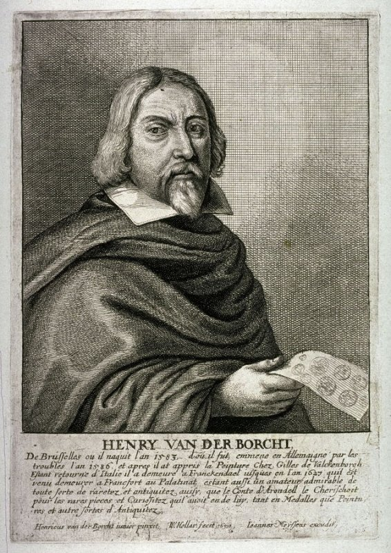 Self-Portrait of Henry van der Borcht the Elder