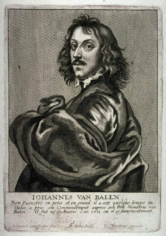 Portrait of Johannes van Balen