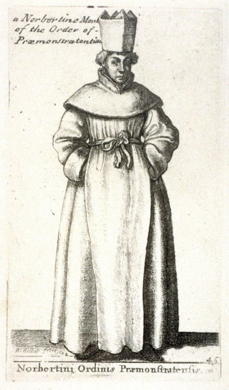 A Norbortine Monk of the Praæmonstratentian Order