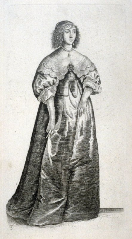 Lady with large brooch