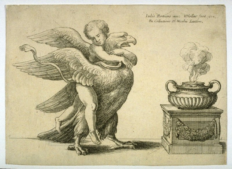 Cupid with an Eagle