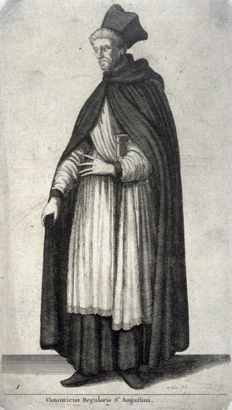 Augustinian MonkCanonicus Regularis St. Augustini (Canon regular of the Augustinian order)
