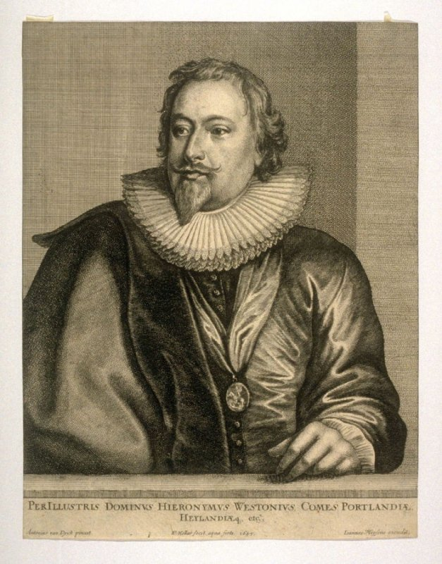 Richard Weston, Earl of Portland, from The Iconography