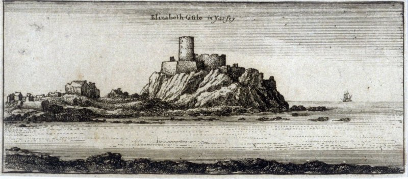Elizabeth Castle in Jersey